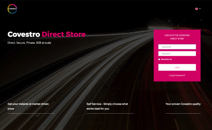 Our First Store: Covestro Direct Store